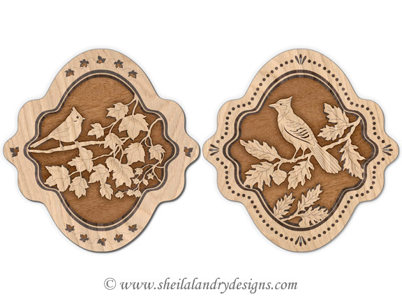 Scroll Saw Bird Pattern