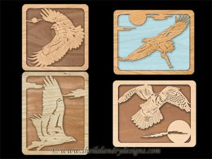 Scroll Saw Birds Of Prey Pattern