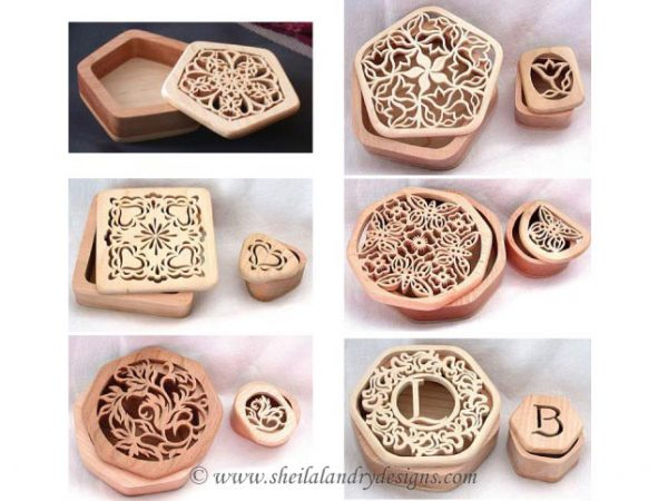 Scroll Saw Box Patterns