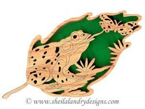 Scroll Saw Bullfrog Pattern