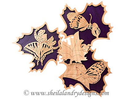Scroll Saw Butterfly Pattern