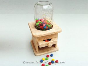 Scroll Saw Candy Dispenser Pattern