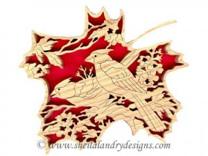 Cardinals Scroll Saw Pattern