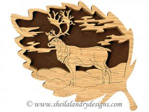 Scroll Saw Caribou Pattern