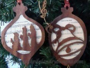 Scroll Saw Christmas Carol Pattern