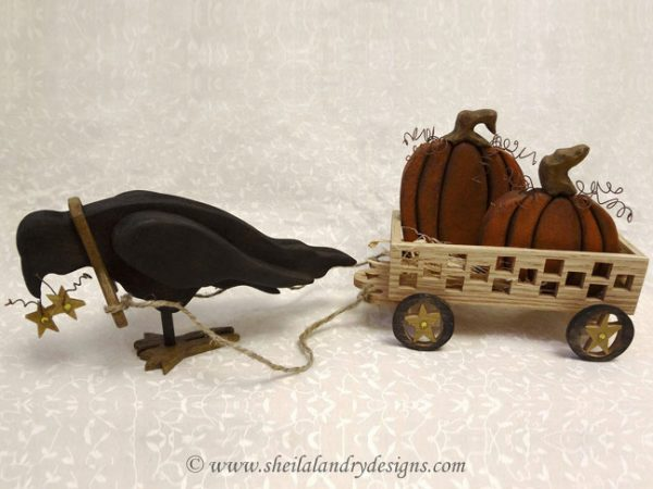 Scroll Saw Crow Toy Plans