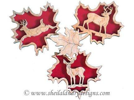 Scroll Saw Deer Wildlife Pattern