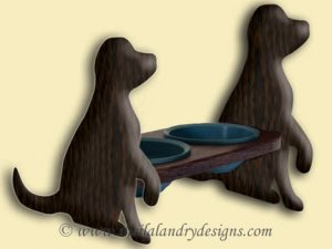 Scroll Saw Dog Dish Pattern