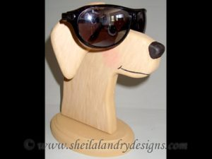 Scroll Saw Dog Eyeglass Holder Pattern