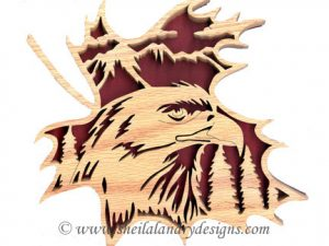 Scroll Saw Eagle Pattern