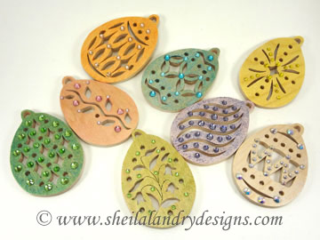 Scroll Saw Easter Ornaments
