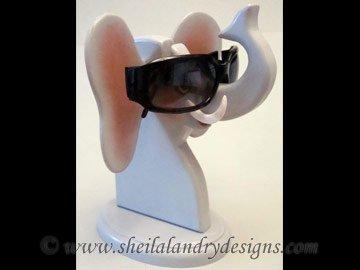 Scroll Saw Elephant Eyeglass Holder Pattern
