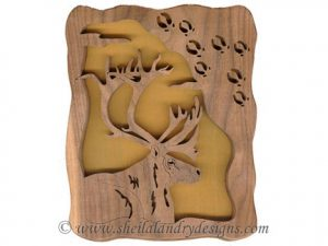 Scroll Saw Elk Tracks Pattern