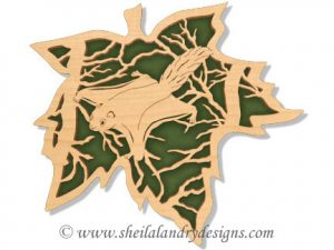 Scroll Saw Flying Squirrel Pattern