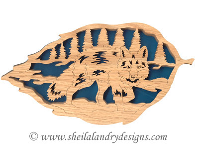 Scroll Saw Fox Pattern