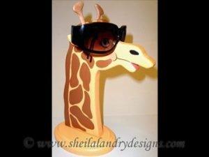 Scroll Saw Giraffe Eyeglass Holder Pattern