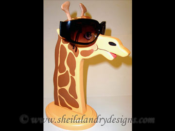 Scroll Saw Giraffe Eyeglass Holder Pattern