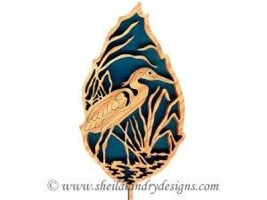 Scroll Saw Great Blue Heron Pattern
