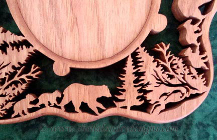 Scroll Saw Grizzly Bear Pattern