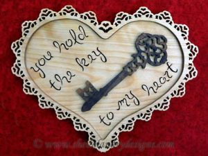 Scroll Saw Heart Pattern