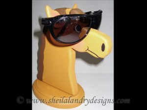 Scroll Saw Horse Eyeglass Holder Pattern