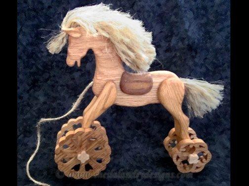 Scroll Saw Horse Pattern
