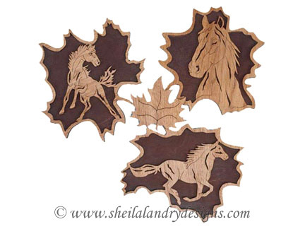 Scroll Saw Horses Pattern