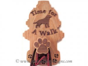 Scroll Saw Leash Holder Pattern