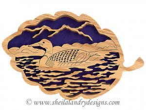 Scroll Saw Loon Pattern