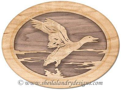 Scroll Saw Mallard Duck Pattern