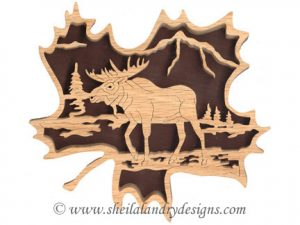 Scroll Saw Moose Pattern