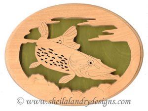Scroll Saw Muskie Pattern