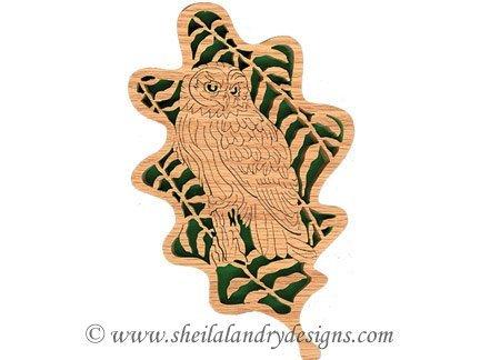Scroll Saw Owl Pattern
