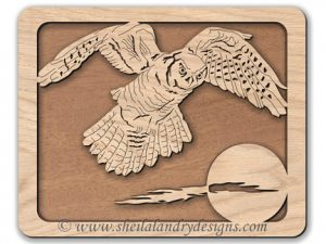 Scroll Saw Owl Pattern