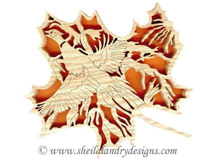 Scroll Saw Pheasant Pattern