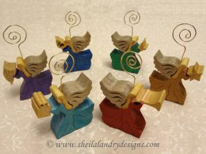 Scroll Saw Place Card Holders