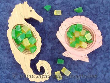 Scroll Saw Sea Horse Pattern