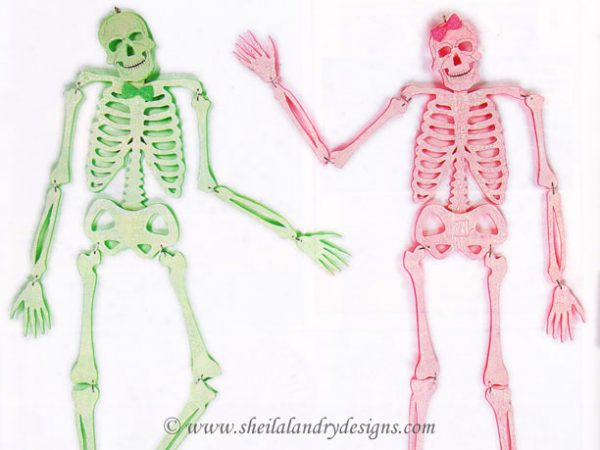 Scroll Saw Skeleton Pattern