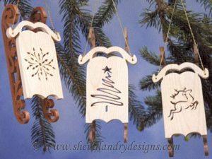 Scroll Saw Sled Ornaments
