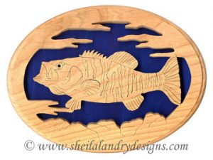 Scroll Saw Smallmouth Bass Pattern