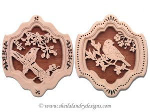 Scroll Saw Songbird Pattern