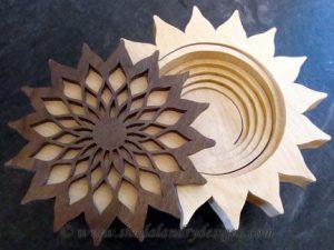 Scroll Saw Sunflower Pattern