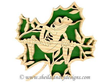 Scroll Saw Tree Frog Pattern