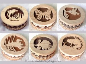 Scroll Saw Trinket Box Pattern Set