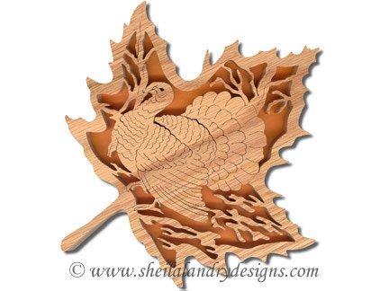 Scroll Saw Turkey Pattern