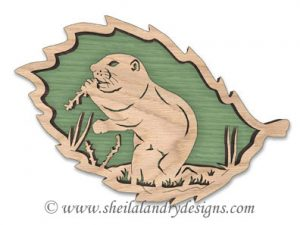 Scroll Saw Utah Prairie Dog Pattern
