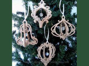 Scroll Saw Victorian Ornaments Pattern