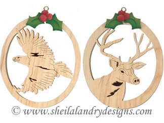 Scroll Saw Wildlife Ornament Patterns