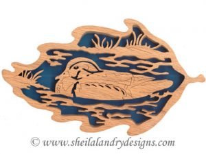 Scroll Saw Wood Duck Pattern