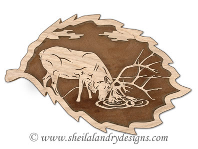 Scroll Saw Woodland Caribou Scroll Saw Pattern